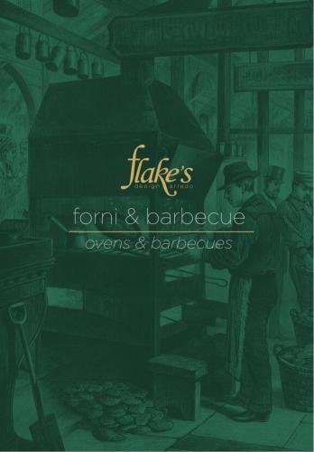 flakes barbecue stampa